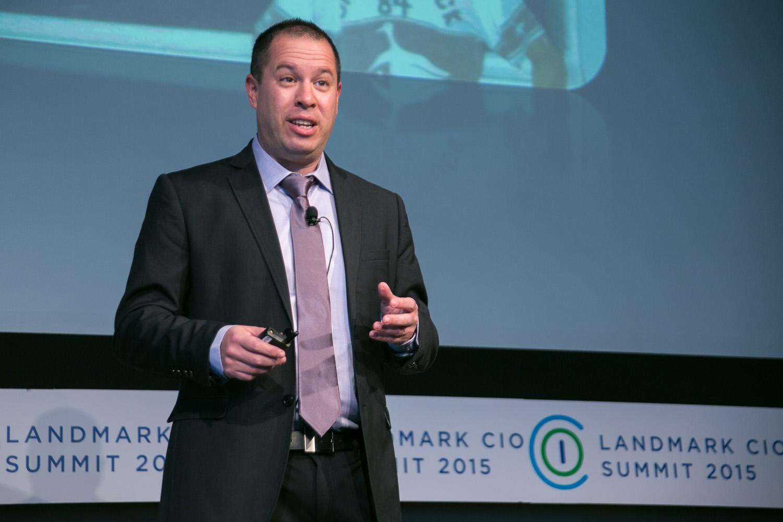 CIO Summit 2015 presented by Landmark Ventures.